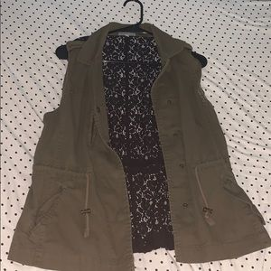 fashionable green Vest